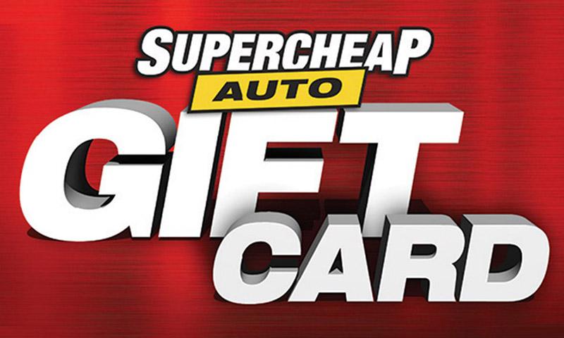 Supercheap Auto eCard