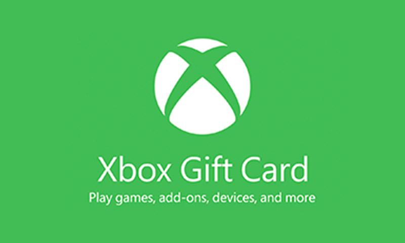xbox eCard
