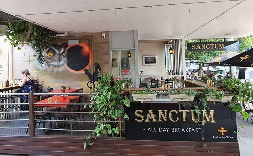 Sanctum Café on Darby