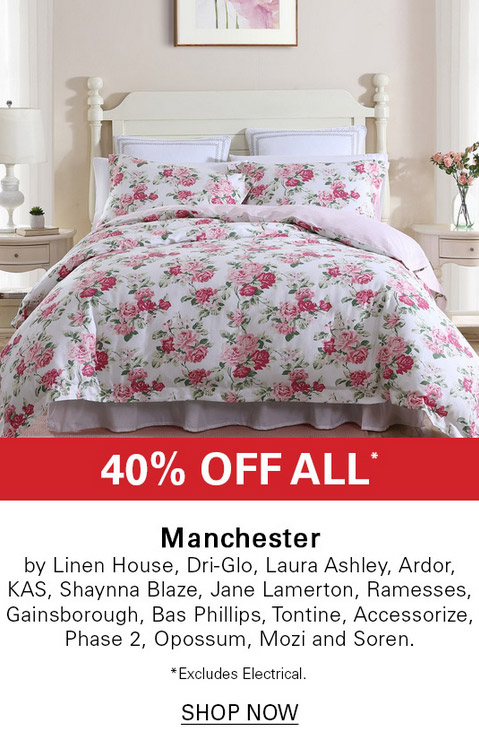 40-60% off All Manchester