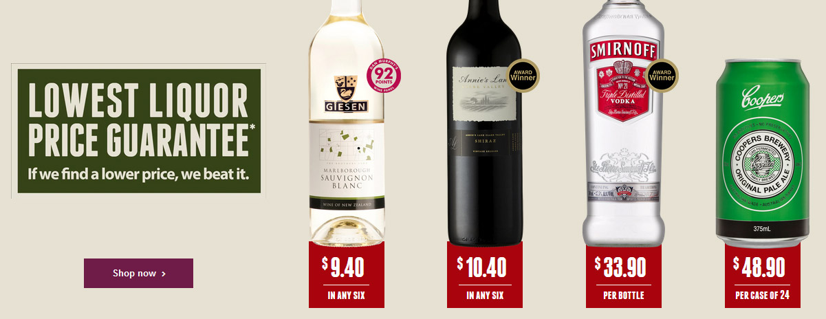 lowest liquor price guarantee