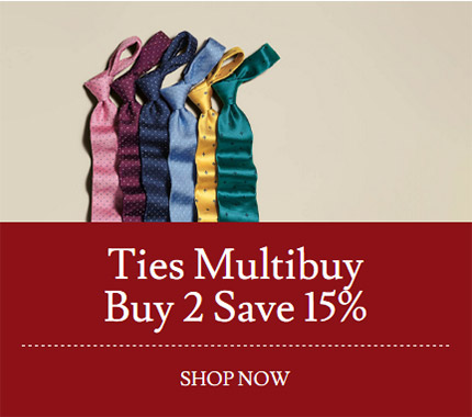 Ties Multibuy Buy 2 Save 15%