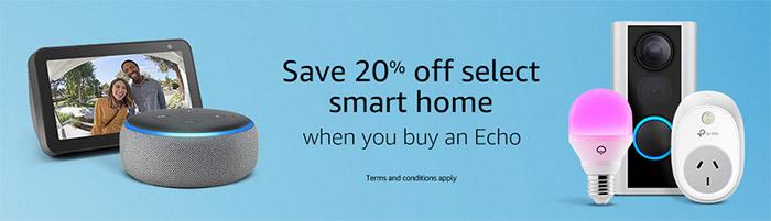 Save 20% on select Smart home